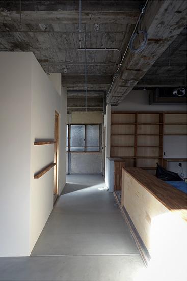 空間 壁塗装