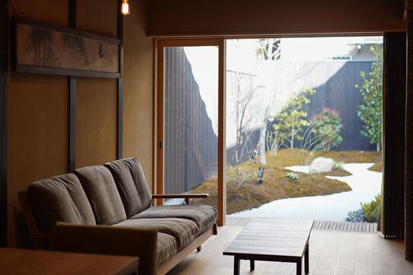 京都らしい 庭 風情を生かすリノベ