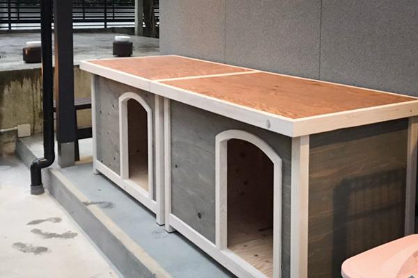 犬小屋 デザイン ドックハウス オーダーデザイン 造作 新築