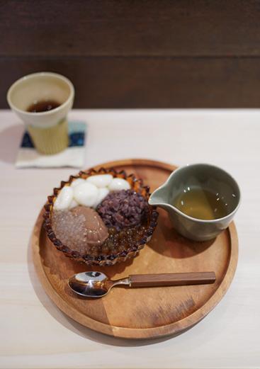 あんこ 濃厚チョコプリン タピオカ 京都