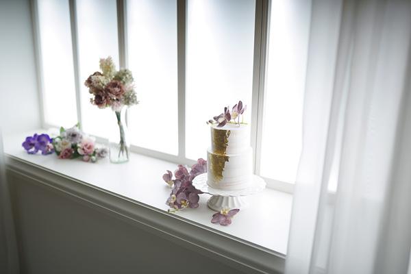 間接照明を使った窓 フォトスタジオ