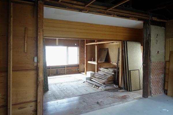 築90年越え 古い木造住宅の改修工事
