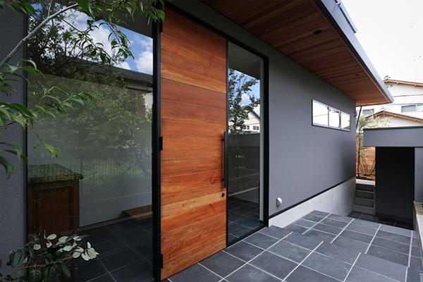 新築  注文住宅 京都市 緑を感じるモダンデザイン 邸宅